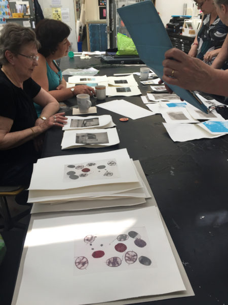 Solarplate workshop at Ochre(i)